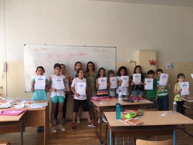 ученици по английски език
