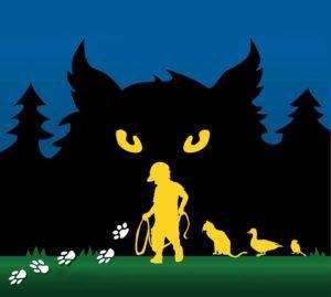 """Peter and the wolf"" – Английска постановка за деца на 21 юни, 2019"